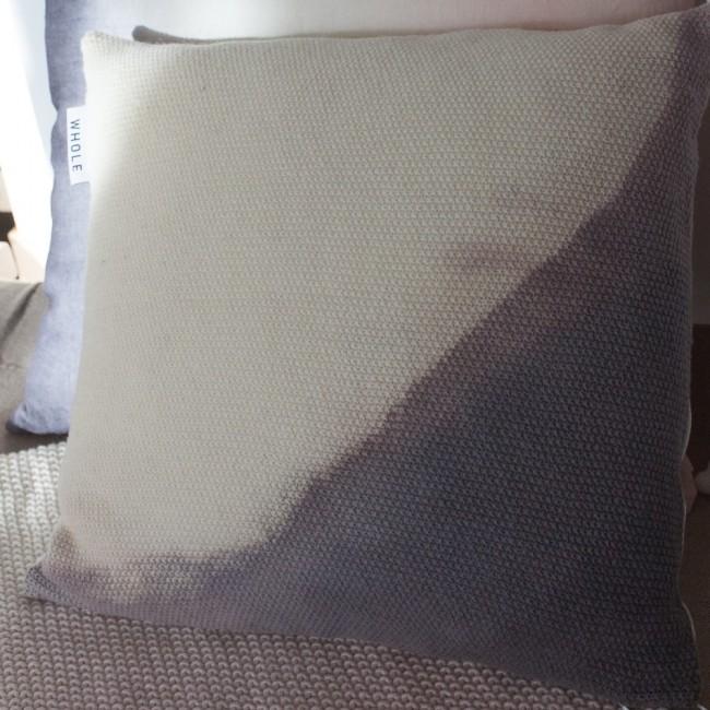 Coussin tricoté Wilo