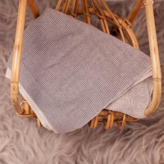 Woli, couverture de bébé rose