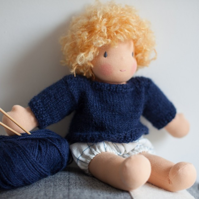 Kit tricot pull