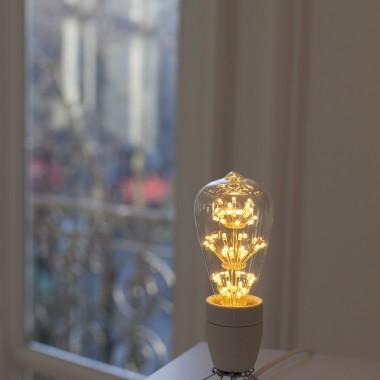 Ampoule à pois