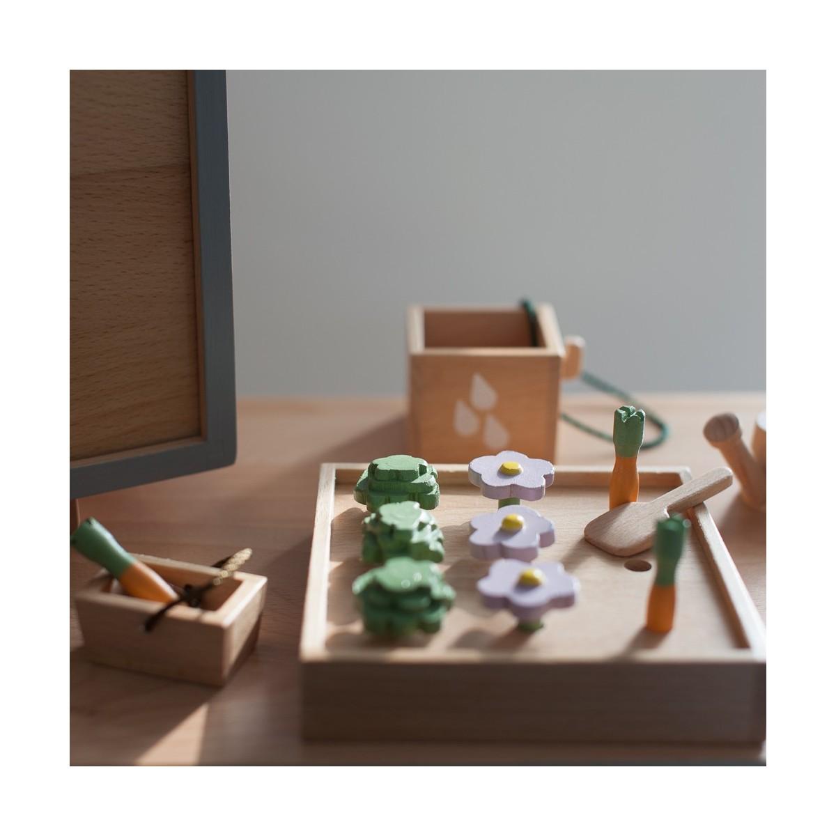 Mini Potager en bois
