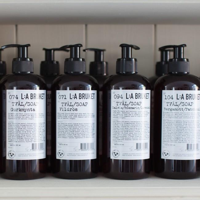 Savon liquide L:a Bruket