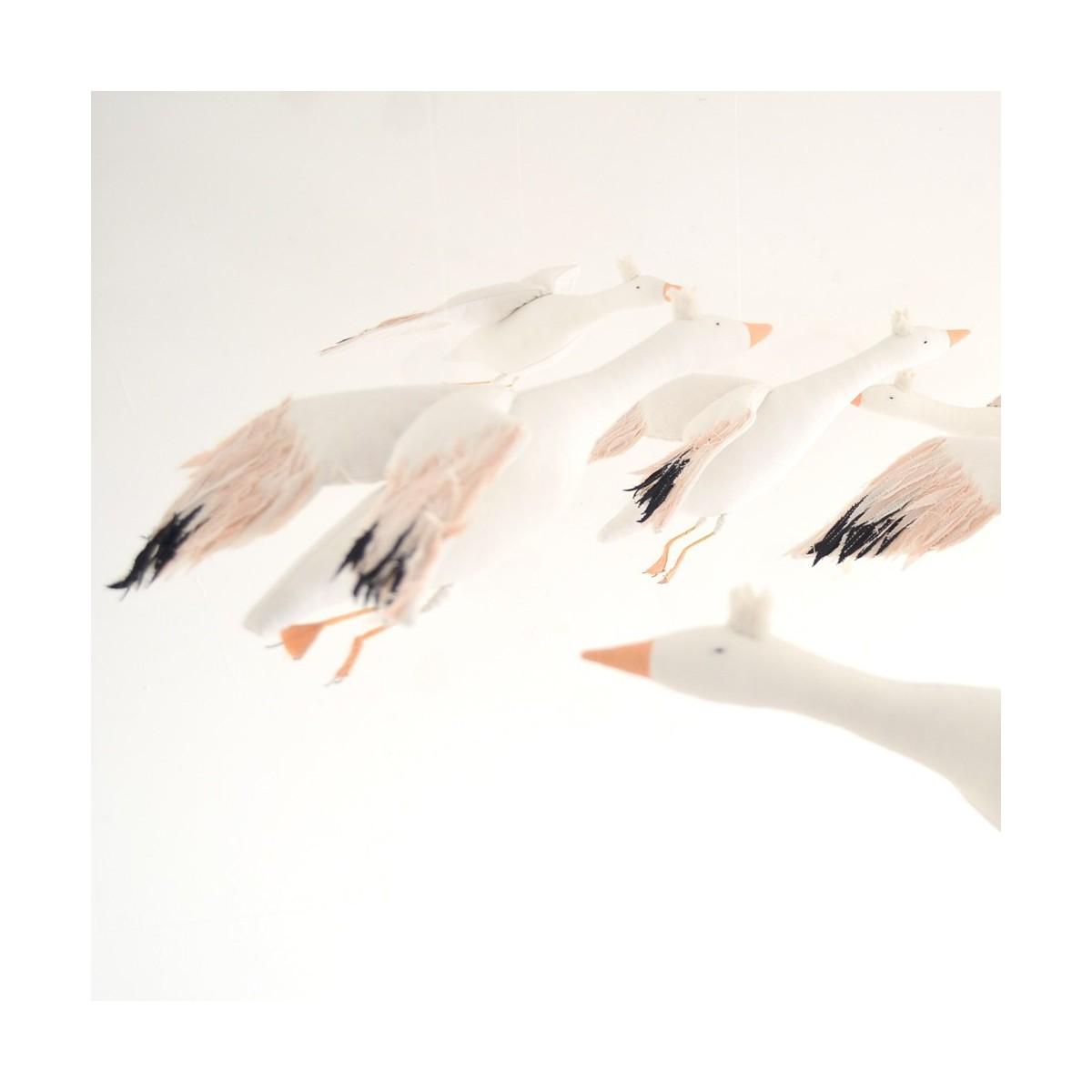 Snow goose, l'oie Nils&Happytoseeyou by Cocon