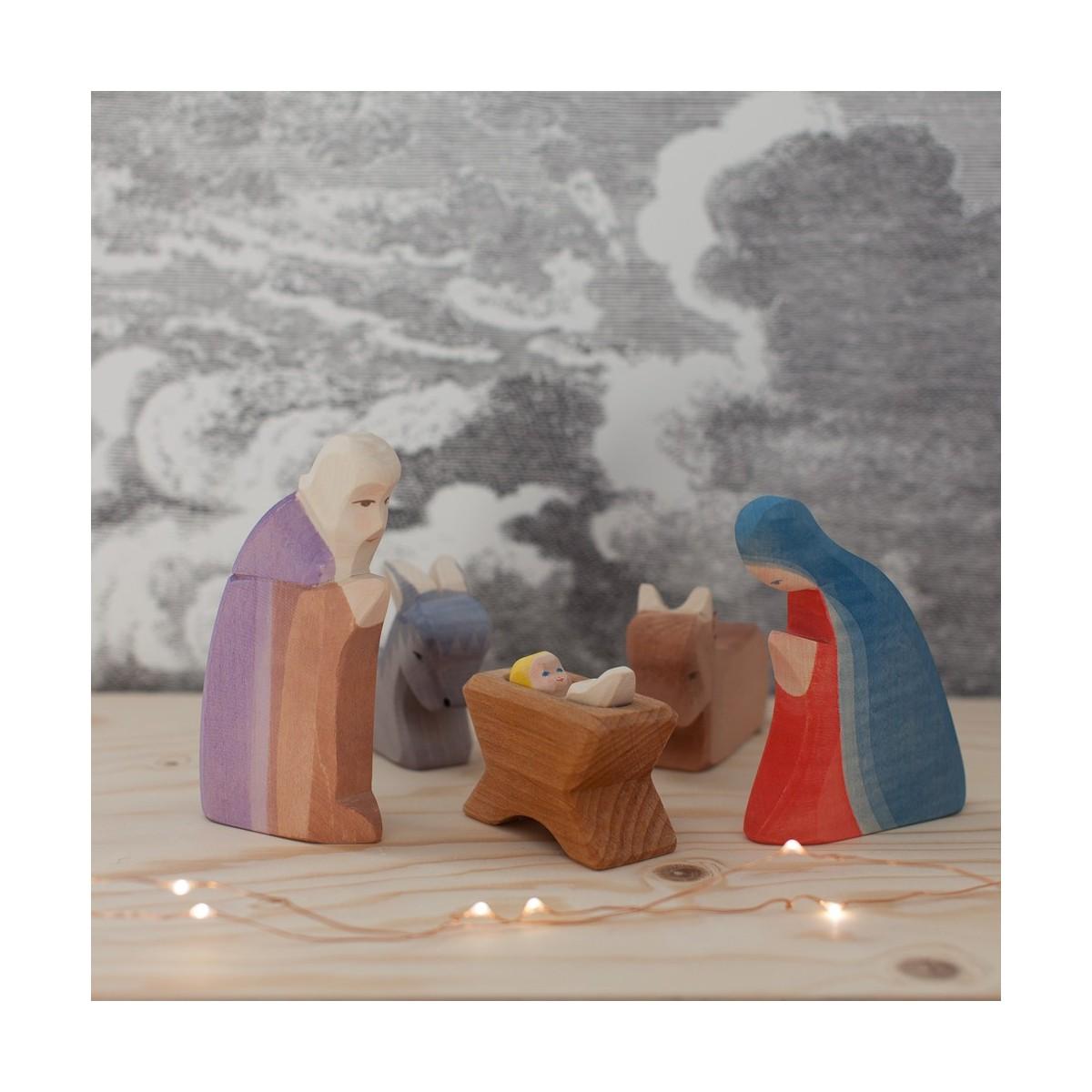 Crèche de Noël Ostheimer