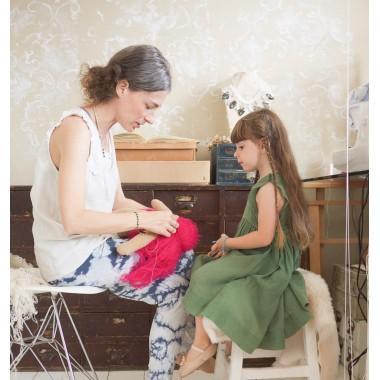 Kit Abc Sew me Petite poupée