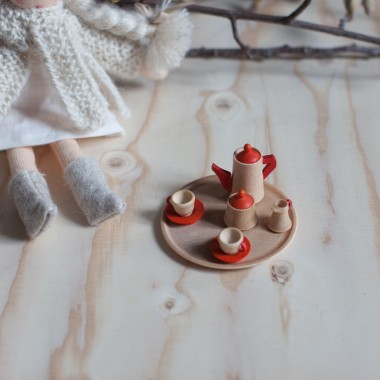 Coffee set miniature