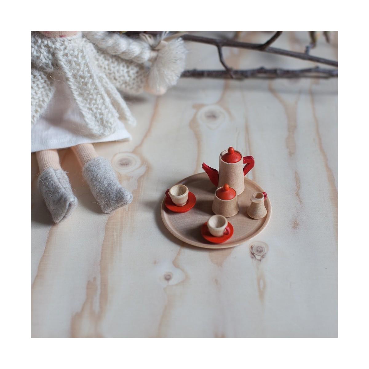Coffee set miniature