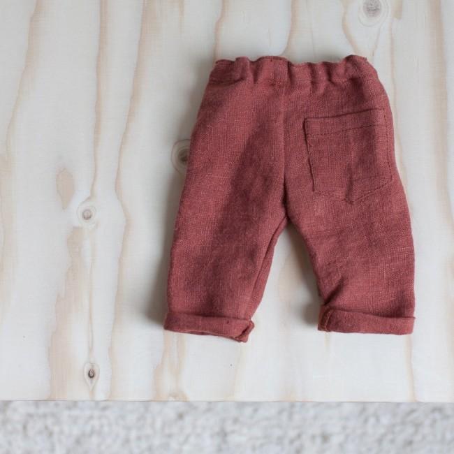 Pantalon Ponant terre de sienne