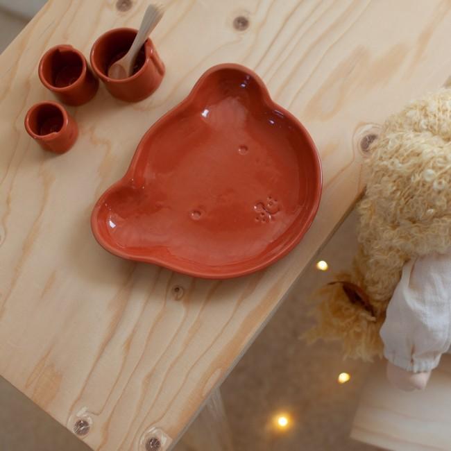 L'Assiette de Bébé Ours Cinq à 10