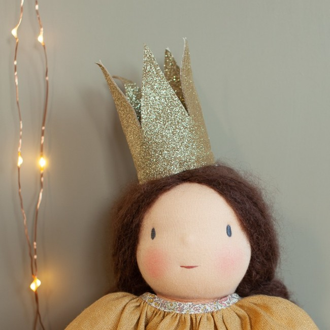 Petite couronne dorée