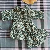 Robe Bonjour Stain vert