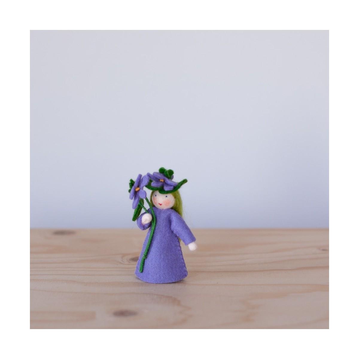 Fée Violette avec tige