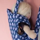 Porte-bébé en Liberty (suite)