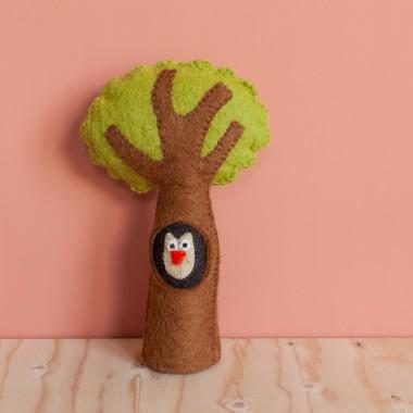 Baobab en feutre de laine