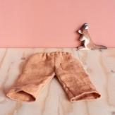 Pantalon Ponant lin terracotta