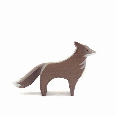 Loup en bois