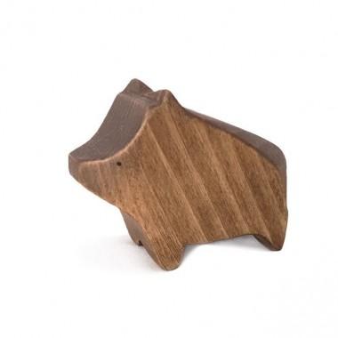 Wooden wild sow