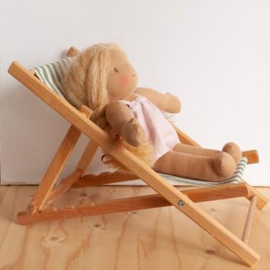 Chaise longue poupée