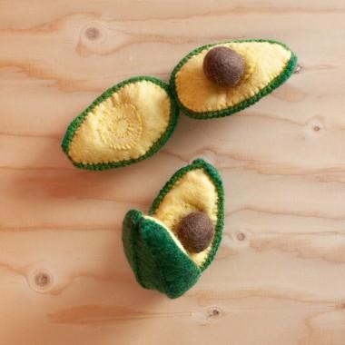 Avocat en laine feutrée
