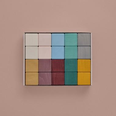 Cubes en bois Raduga