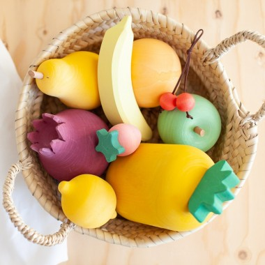 Set de fruits en bois Raduga