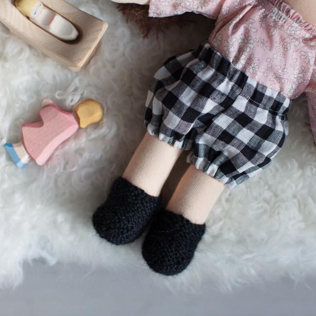 chaussons noir
