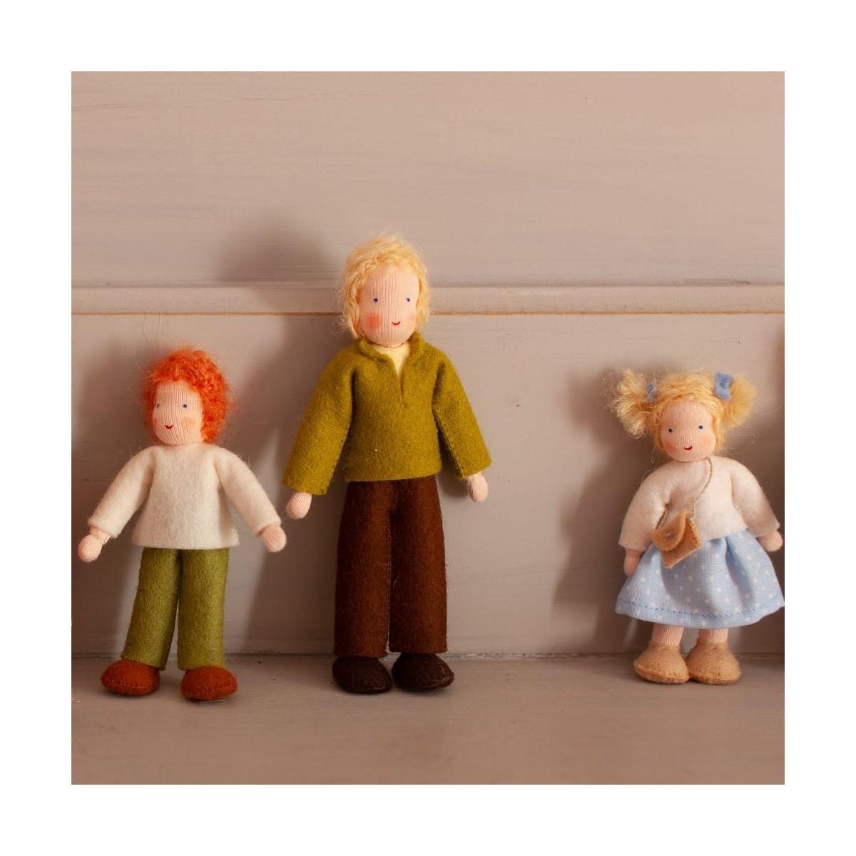 Figurines en feutre