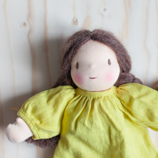 robe-jaune-chatain