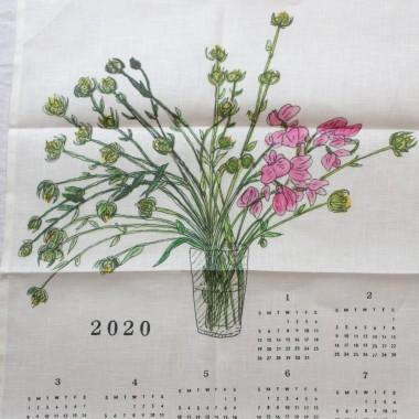 Torchon calendrier Fog Linen