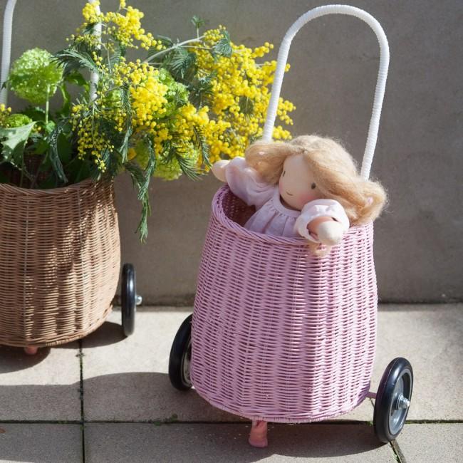 Luggy caddie rose