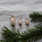 Chouettes miniatures