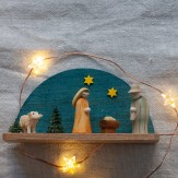 Crèche miniature