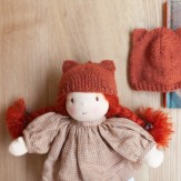 Bonnet  tricoté Renard