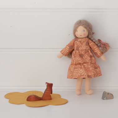 Mini robe Daphné à volants