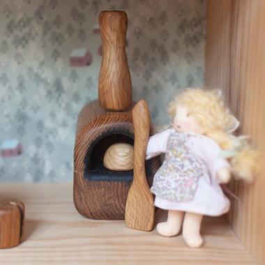 Mini Four à pain en bois