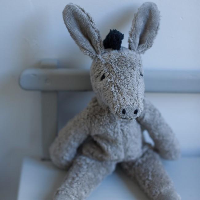 Petit âne en coton bio
